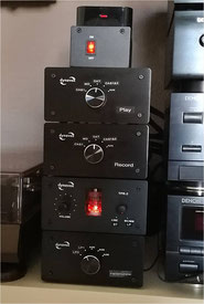 DYNAVOX TPR-2 mit separatem Netzteil und Umschalter DYNAVOX AUX-S