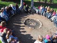 Treffen mit Klasse 4 aus Sulz auf der Ökostation