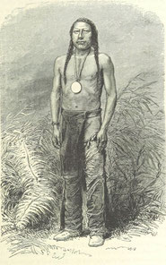 Entstehung der Mythen und Indianersagen Wilder Westen
