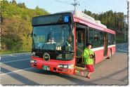 BRT体験試乗(南三陸号)