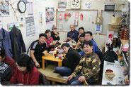 復興商店街で夕食(南三陸号)
