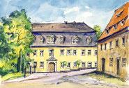 Schloss Maxen - Bild/Aquarell: (c) Steffen Gröbner