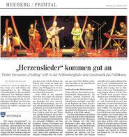Findling Konzert in der Schlossberghalle Wehingen