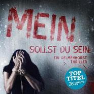 Delmenhorster Schriftstellerin Katy Buchholz / Thriller / Frau ist gefangen und sitzt gefesselt auf einer Matratze