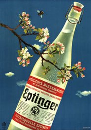 Eptinger Werbeplakat 1941 von Herbert Leupin