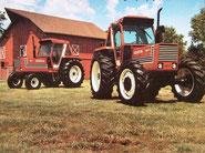 Fiat Traktoren unter dem Namen Heston