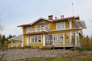 Exklusives Holzhaus in Blockbauweise