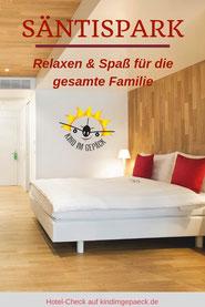Säntispark St. Gallen für Familien.