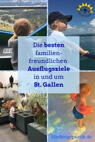 Ausflüge für Familien in St. Gallen.