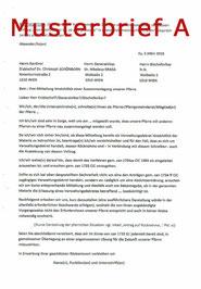 DOWNLOAD Musterbrief gegen Pfarrauflösung