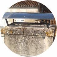 realisation d'un dessus de cheminée en zinc par l'entreprise Tempérault Bruno sitée à Rouillac en Charente