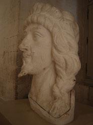 Tête du buste de Gaston d'Orléans