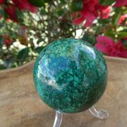 sphere malachite mineral site alain rivera