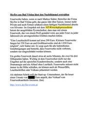 Bericht im NÖ Wirtschaftspressedienst vom August 2013