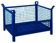 Cestón malla 800 x 500 con lateral abatible