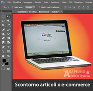 scontorno articoli per e-commerce con Photoshop