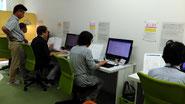 タウン光パソコン名谷教室授業風景