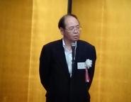 挨拶をされる建設コンサルタンツ協会の大島会長