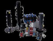 Die Hydraulikstützen Anlage für einen sicheren Stand des Wohmobils, Reisemobils oder Kastenwagen.