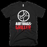 Griller T-Shirt schwarz