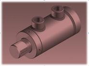 KOMPAUT, Agricultural hydraulic cylinders MDA