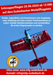 Schnupperfliegen 2020 MFG Eudenbach