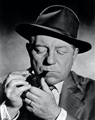 Maigret jean gabin fume la pipe mais pas une Louis Vuitton