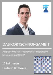 chessemy-Kurs, Kortschnoi-Gambit, Nikolas Lubbe