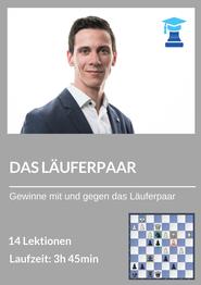 chessemy Kurs, das Läuferpaar, Nikolas Lubbe