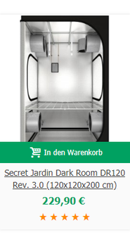 Secret Jardin Dark Room DR120 Rev. 3.0 (120x120x200 cm)