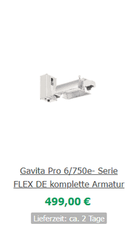 Papillon E-Light 600W 400V HORTI
