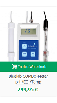 Bluelab COMBO-Meter pH-/EC-/Temp
