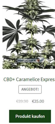 CBD+ Caramelice Express