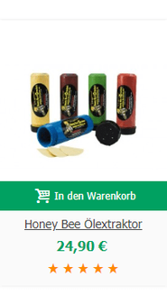 Honey Bee Ölextraktor