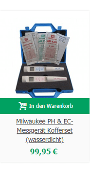 Milwaukee PH & EC-Messgerät Kofferset (wasserdicht)