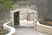 Création d'un porche en pierre charente