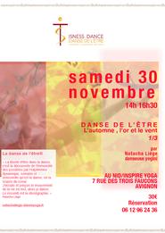 30/11/2019 Inspire Yoga 7 rue des 3 faucons AVIGNON