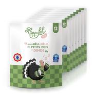 Petit pot à la viande de dinde certifié halal par AVS à partir de 12 mois