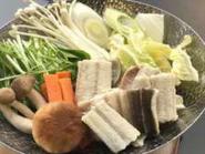 穴子鍋料理