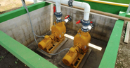 PUMPS SLUDGE EXTRATION LAGOON DIGESTER