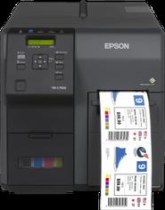 Farbetikettendrucker Epson Colorworks C3700 Niesel-Etikett