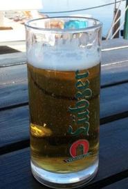 Ein schmackhaftes Kaltgetränk in Greifswald