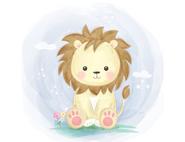 Wandtattoo Wandaufkleber Wandsticker günstig online kaufen  Mädchenzimmer Mädchen Zimmer Kinderzimmer Baby Kind  Löwe Tiere Sahara Wüste Raubtier süß