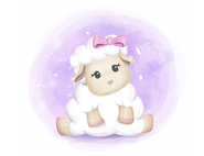 Wandtattoo Wandaufkleber Wandsticker günstig online kaufen  Mädchenzimmer Mädchen Zimmer Kinderzimmer Baby Kind  Schaf süß Wolke Schlafen Gute Nacht