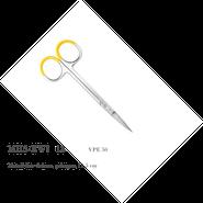 Metall-Iris-Schere, gebogen, 11,5 cm