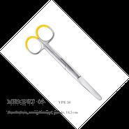 Metallschere, stumpf / stumpf, gerade, 14,5 cm