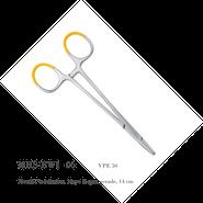 Metall-Nadelhalter, Mayo Hegar, gerade, 14 cm