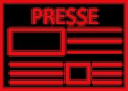 Button mit Link zu Presse