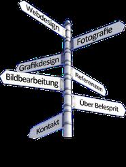 Navigationshilfe für Kleindisplays