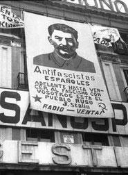 Stalin plakat af PSUC